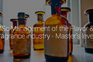 Marketing Lecturer in MSc Management of the Flavor & Fragrance industry at Grasse.